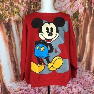 Vintage Mickey Mouse sweatshirt 2xl